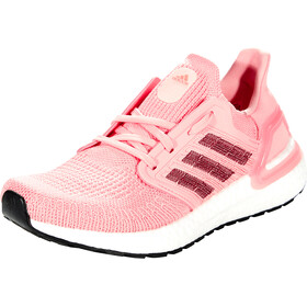 adidas Ultraboost 20 Shoes Women, glory pink/maroon/signal coral